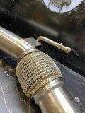 Downpipe Seat Toledo / Leon / Altea 1.9 & 2.0TDIFWD, 2004-2013, 2.5 inch_