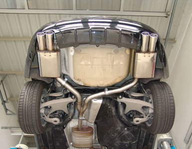 Exhaust Stealth dual including installation