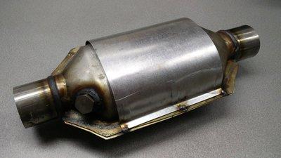 Sport/race katalysator, ovaal, hitteschild, 200 CPSI, 2.0 inch